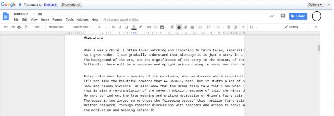 Click the Google Translate tool to translate pdf files.