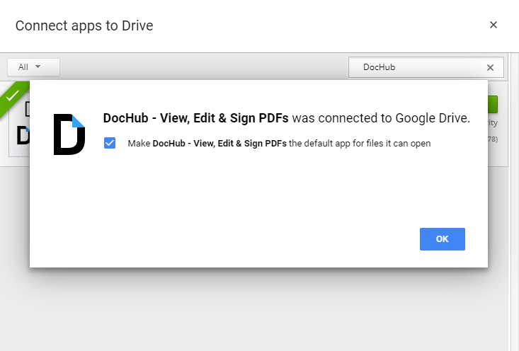 Check the access for DocHub