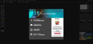 如何開啟 Pixlr Editor