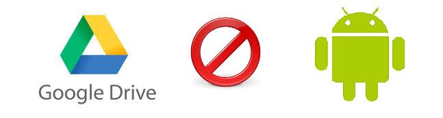 照片為Google Drive關閉機器人的示意圖
