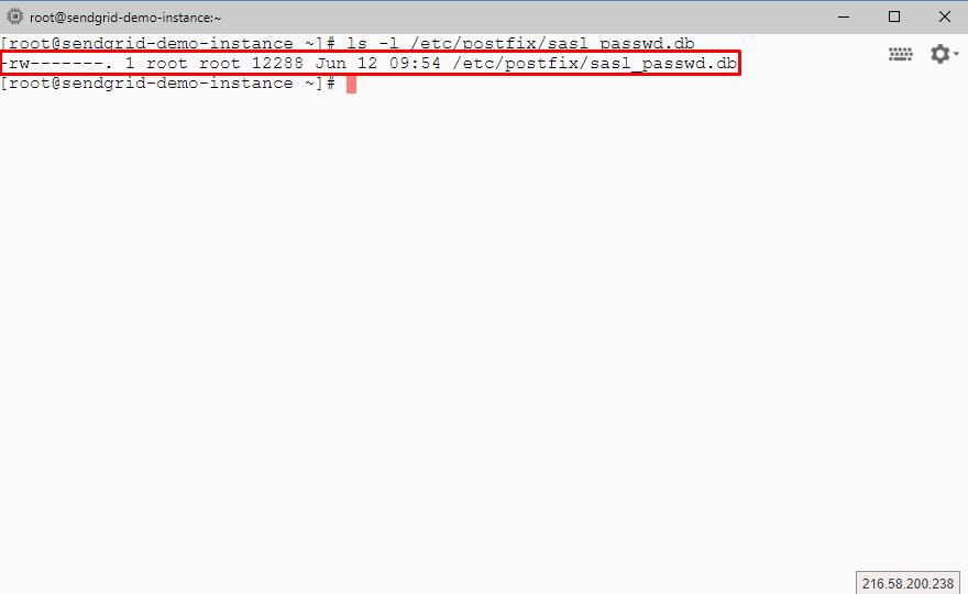ls -l /etc/postfix/sasl_passwd.db